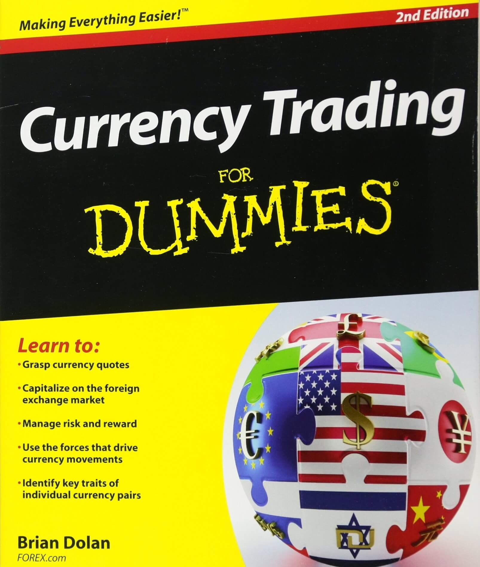 Currency Trading for Dummies, by Brian Dolan Forex Trading Books for Beginners